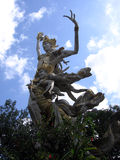 Bali. Goddess against the sky Royalty Free Stock Photo