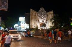 Bali gound zero. Travelers see the ground zero monument Bali bombing in Denpasar, Bali, Indonesia Royalty Free Stock Photos