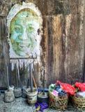 Bali-Graffiti Stockbild