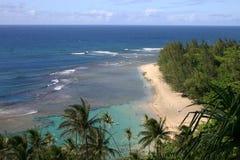 Bali Hai Beach. In Kauai, Hawaii stock photography