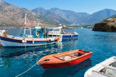 Bali harbour. Crete, Greece Royalty Free Stock Photos