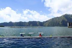 Bali-heiße Quelle Stockfoto
