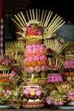 Bali Hindu Offering Stock Photo