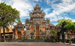 Bali Hindu temple / Bali, Indonesia. Entrance to Balinese Hindu temple / Bali, Indonesia Stock Photography