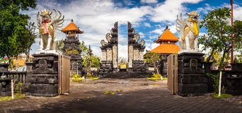 Bali hindy temple stock photo