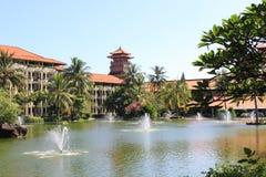 Bali hotell Arkivbild