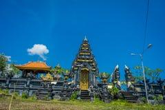 BALI, INDONÉSIA - 11 DE MARÇO DE 2017: Pura Ulun Danu Bratan na ilha de Bali, Indonésia Fotografia de Stock Royalty Free