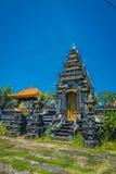 BALI, INDONÉSIA - 11 DE MARÇO DE 2017: Pura Ulun Danu Bratan na ilha de Bali, Indonésia Imagens de Stock Royalty Free
