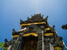 BALI, INDONÉSIA - 11 DE MARÇO DE 2017: Pura Ulun Danu Bratan na ilha de Bali, Indonésia Fotos de Stock