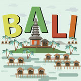 bali Indonésie Photographie stock