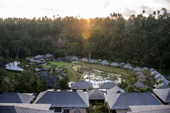 Bali Indonésie Mandapa Ritz Carlton Reserve 08 10 2015 Photographie stock