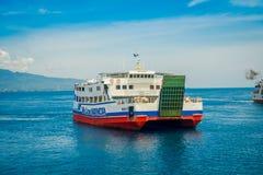 Free BALI, INDONESIA - APRIL 05, 2017: Huge Ferry In Banyuwangi Gilimanuk In Ubud, Bali Stock Photography - 102180682