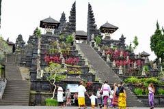 BALI, INDONESIA 28 DE MAYO DE 2015: El templo de la madre de Bali Fotografía de archivo