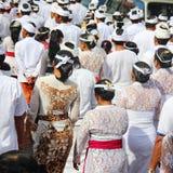 BALI, INDONESIA . DEC 27, 2013 in Ubud. parade Stock Image