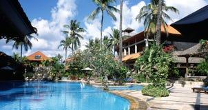 bali Indonesia hotel park Obrazy Royalty Free