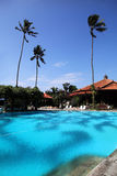 Bali Indonesia Hotel Pool Royalty Free Stock Photography