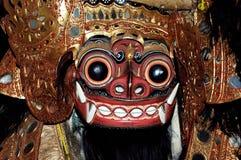 bali indonesia java maskering Royaltyfri Bild