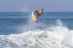 Bali, Indonesia - Jun. 2013: Brazilian pro surfer Gabriel Medina Stock Image