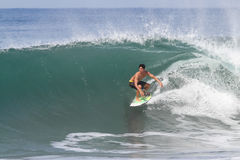 Bali, Indonesia - Jun. 2013: Brazilian pro surfer Gabriel Medina Stock Photography