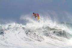 Bali, Indonesia - Jun. 2013: Brazilian pro surfer Gabriel Medina Stock Image