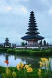 Bali, Indonesia. Landscape Of Pura Ulun Danu Bratan Temple Stock Image