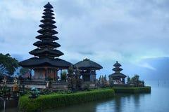 Bali, Indonesia. Landscape Of Pura Ulun Danu Bratan Temple Royalty Free Stock Images