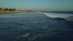 Bali Indonesia linie brzegowe zbiory wideo