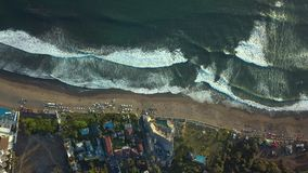 Bali Indonesia linie brzegowe zdjęcie wideo