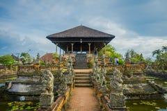 BALI, INDONESIA - MARCH 08, 2017: Semarapura, Kertha Gosa Pavilion in Klungkung Palace, in Denpasar Indonesia Stock Photo