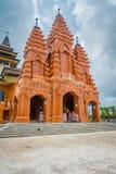 BALI, INDONESIA - 8 MARZO 2017: Punto di vista esterno del Katedral Roh Kudus, chiesa cattolica, situata a Denpasar dentro Fotografia Stock