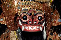 bali Indonesia maska Java obraz royalty free