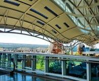 Denpasar International Airport in Bali, Indonesia Stock Photo