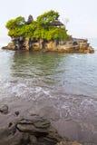 bali indonesia mycket tanahtempel Arkivfoto