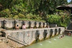 Termal hot springs on Bali Stock Image