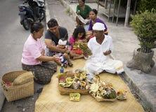 Bali Indonesien Arkivfoton