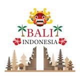 Bali, Indonesien lopp och dragning Royaltyfria Foton