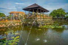 BALI, INDONESIEN - 8. MÄRZ 2017: Szenen von Hinduist-Hölle von Ramayana auf Royal Palace, Ramayana ist hindische Epose, Basis Stockbild