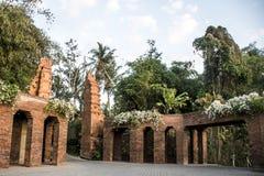 Bali Indonesien Mandapa Ritz Carlton Reserve 08 10 2015 Stockbilder