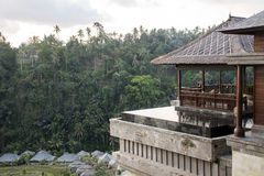 Bali Indonesien Mandapa Ritz Carlton Reserve 08 10 2015 Arkivbilder