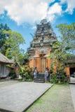 BALI INDONEZJA, KWIECIEŃ, - 05, 2017: Piękna świątynia w Ubud Bali lokalizować w Indonezja Fotografia Stock