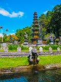 Bali Indonezja, Kwiecień, - 17, 2012: Tirtaganga wody pałac Fotografia Royalty Free