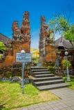BALI INDONEZJA, MARZEC, - 05, 2017: Brama Pura Ulun Danu Bratan świątynia na Bali wyspie, Indonezja Zdjęcia Stock