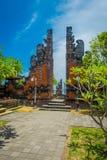 BALI INDONEZJA, MARZEC, - 05, 2017: Brama Pura Ulun Danu Bratan świątynia na Bali wyspie, Indonezja Zdjęcie Royalty Free