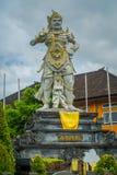 BALI INDONEZJA, MARZEC, - 08, 2017: Kamienna statua Vishnu w Gunung Kawi, Bali, Indonezja Obraz Royalty Free