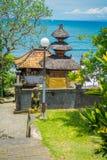BALI INDONEZJA, MARZEC, - 05, 2017: Pura Ulun Danu Bratan jest ważny Shivaite wodny świątynia na Bali wyspie i, Indonezja Obrazy Royalty Free