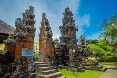 BALI INDONEZJA, MARZEC, - 05, 2017: Pura Ulun Danu Bratan jest ważny Shivaite wodny świątynia na Bali wyspie i, Indonezja Fotografia Royalty Free