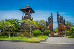 BALI INDONEZJA, MARZEC, - 05, 2017: Pura Ulun Danu Bratan jest ważny Shivaite wodny świątynia na Bali wyspie i, Indonezja Zdjęcia Royalty Free