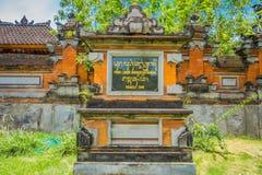 BALI INDONEZJA, MARZEC, - 05, 2017: Pura Ulun Danu Bratan jest ważny Shivaite wodny świątynia na Bali wyspie i, Indonezja Zdjęcie Royalty Free