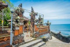 BALI INDONEZJA, MARZEC, - 05, 2017: Pura Ulun Danu Bratan jest ważny Shivaite wodny świątynia na Bali wyspie i, Indonezja Obraz Royalty Free