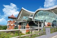 Bali internationell flygplats, Bali, Indonesien Arkivbilder